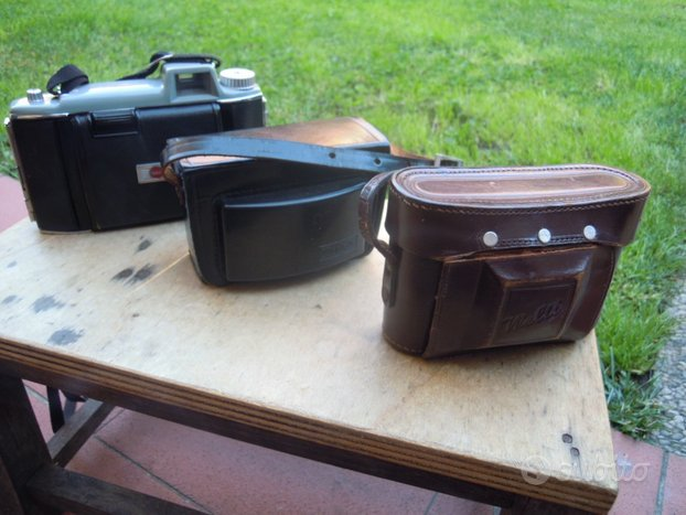 Vecchie macchine fotografiche kodak welti