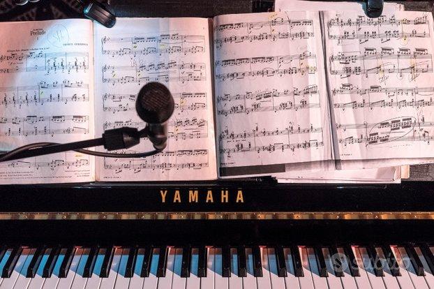 Lezioni di pianoforte, canto moderno e teoria