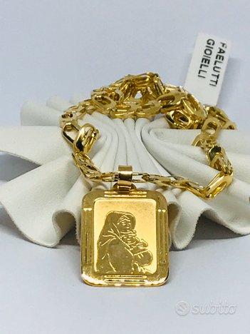 Collana uomo oro 18 Kt gr. 18.80 (cr)