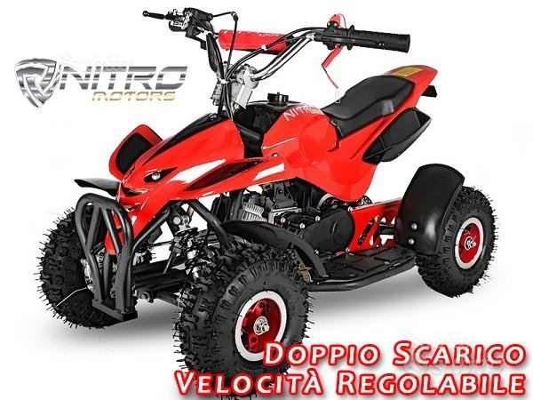 MINIQUAD cross DRAGON NITRO mini moto quad 49cc
