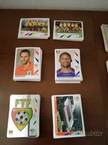 Lotto Figurine Panini Calcio - WC Germany 2006