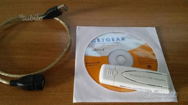 Adattatore usb Netgear Wireless-N WN111v2 300Mbps