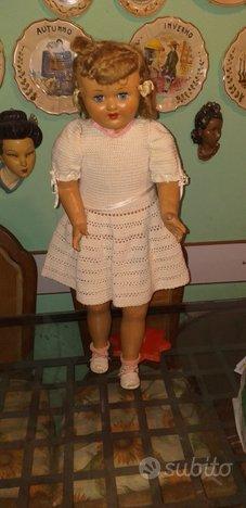 Bambola rarissima cammina anni '40 spagna