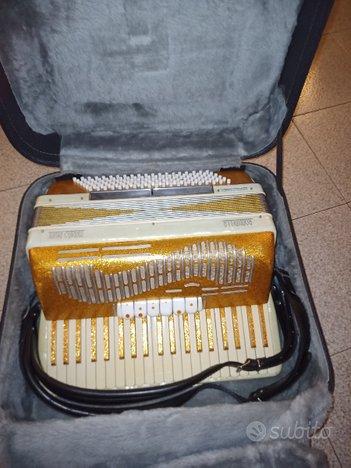 Fisarmonica Pigini 120 bassi ridotta