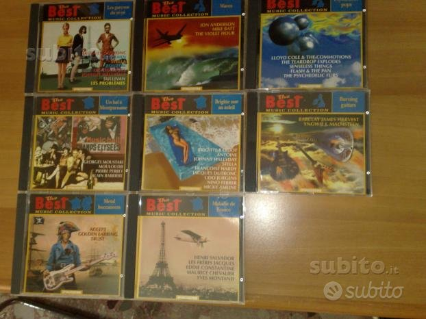 The Best Music Collection De Agostini 8 cd