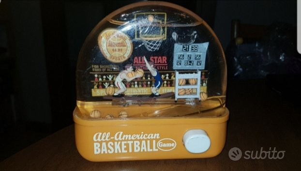 Gioco vintage basketball water