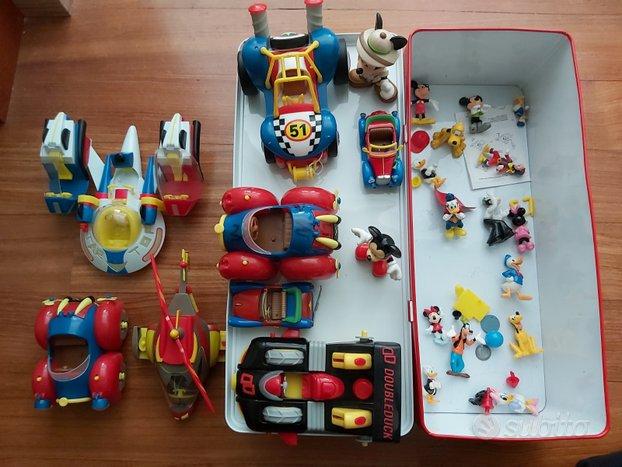 Kit giochi di Topolino (macchinine e personaggi)
