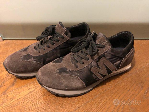 Scarpe sneakers Merrel camouflage 41 tela pelle