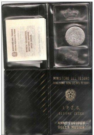 Lotto 7 Monete Argento Repubblica Italiana