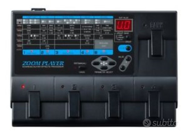 Pedaliera multieffetto Zoom Player 2020