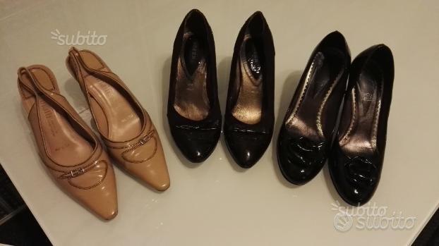 Tre paia di scarpe donna