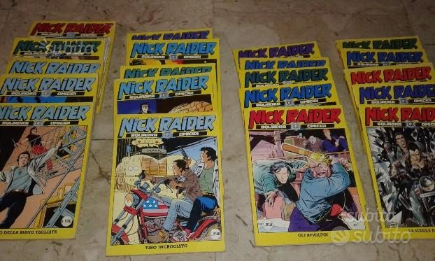 Collezione fumetti Nick Raider
