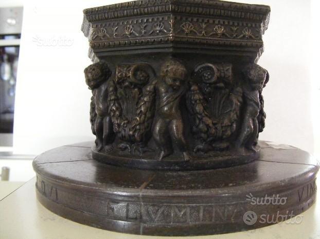 Vera di pozzo fusione in bronzo di A.Pandiani