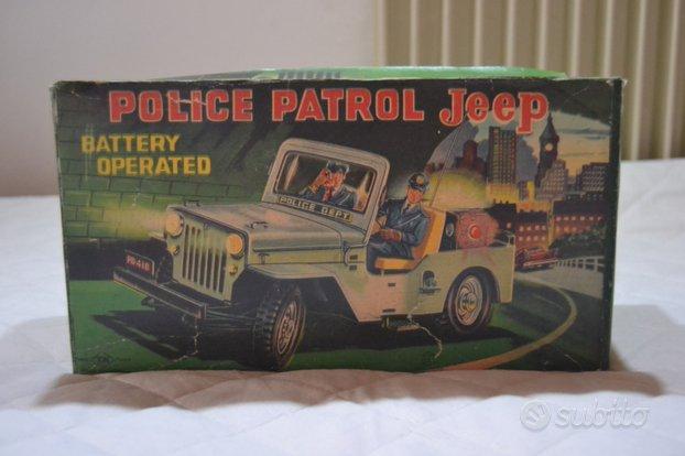 Tin toy Nomura T.N Tin Toys macchina della polizia