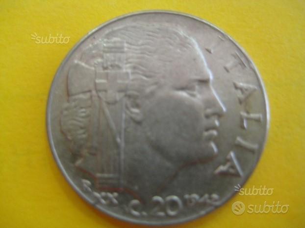 20 Centesimi 1942 Impero Vitt. Eman. ( Rif. 104 )