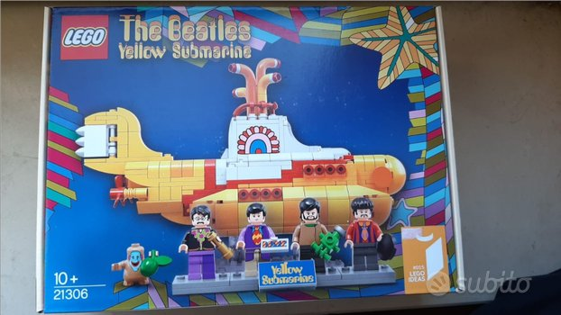 Lego 21306 Yellow Submarine MISB (Sped inclusa)