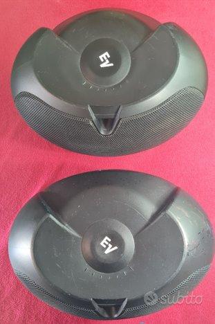 N.2 Diffusori Electro voice Evid 4,2 Twin black