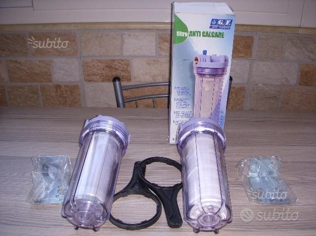 Filtri acqua addolcitore anticalcare