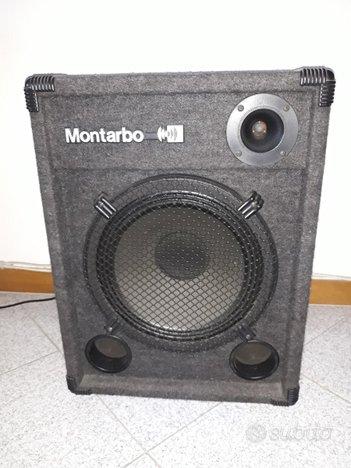 Cassa amplificata Montarbo Trio