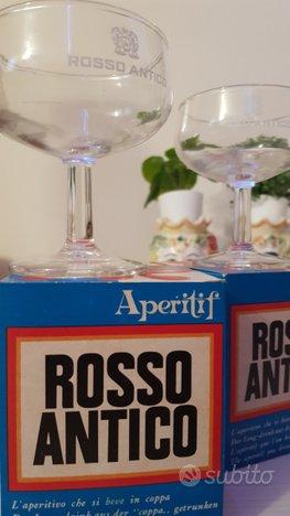 Bicchieri Originali Rosso Antico per aperitivo