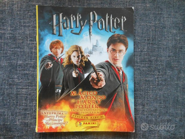 Album figurine harry potter immagini dei primi