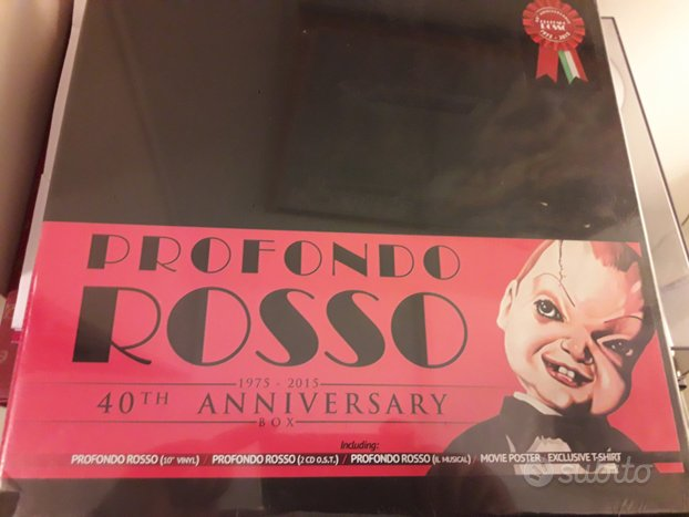 Profondo rosso (deep red) limited edition box