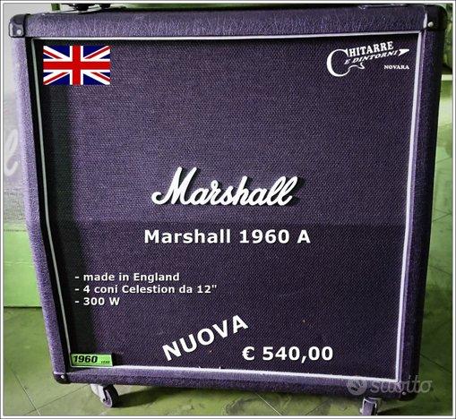 Cassa MARSHALL 1960 A