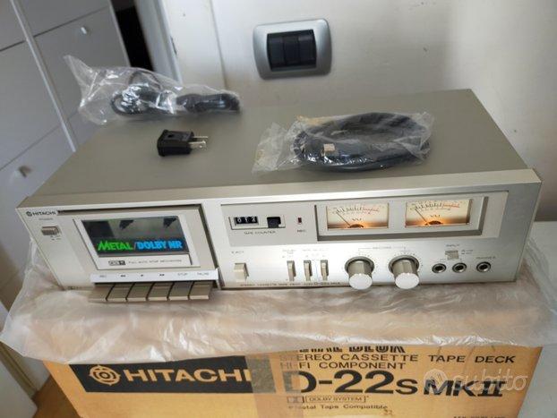 Piastra cassette Hitachi D-22S NUOVA