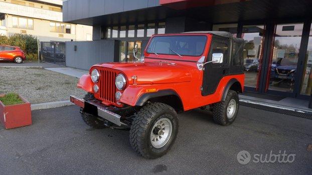 Jeep CJ-5 V8 304 cid Rif.TO120