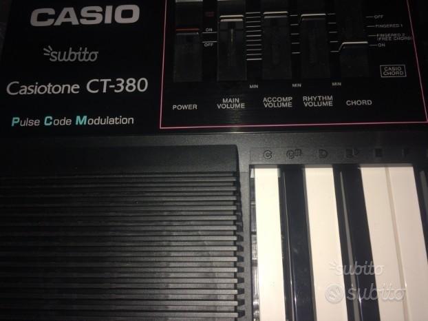 Tastiera Casiotone CT 380