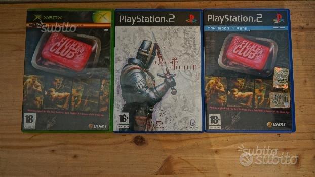 Lotto 2 Giochi PS2 + 1 XBOX