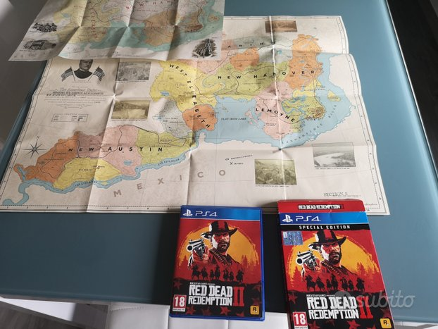 Red Dead Redemption 2, ps4 ita, SPECIAL EDITION