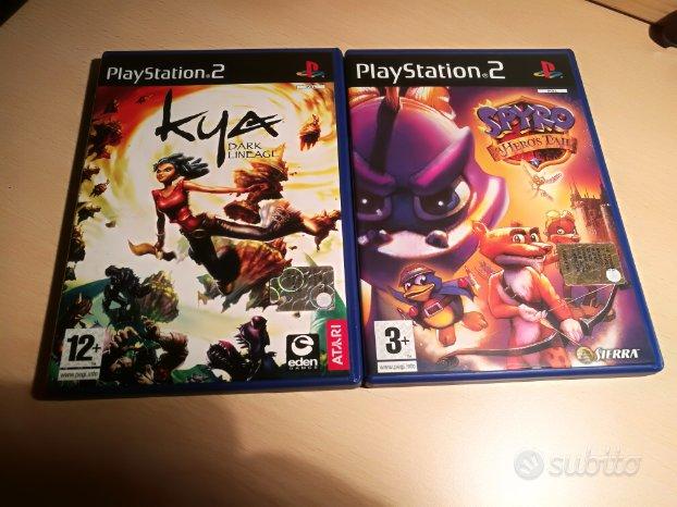 8 giochi PS2
