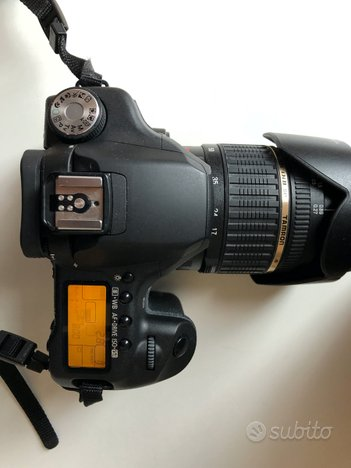 Reflex Canon EOS 50D + Obiettivo Tamron 17-50 f2.8