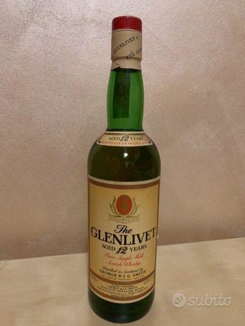 The glenlivet 12 years scotch whisky
