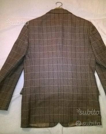 Abito uomo spezzato fresco di lana, tg. 52 R