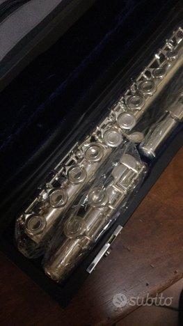 Flauto Roy Benson FL202E T/A testata in argento