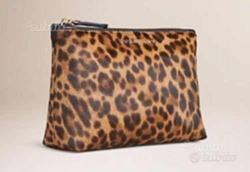 Beauty case leopardato, modello animaler