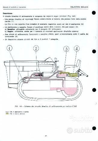 2 manuali per trattore Lamborghini C 352: libri e riviste ...