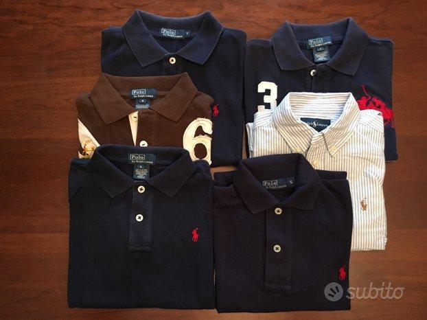 Ralph Lauren 5 polo 1 camicia