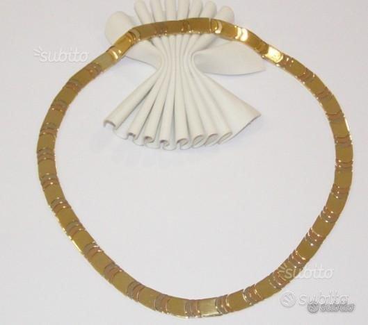 Collana in oro 18kt firmata chimento gr 62.10(cr)