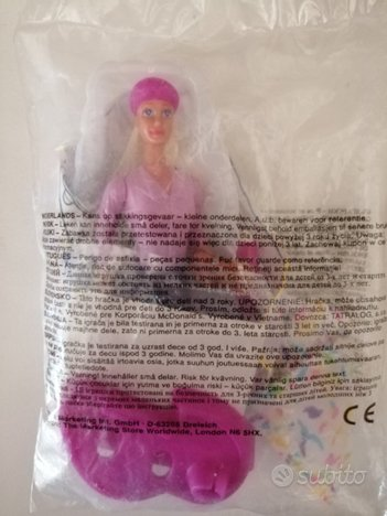 Bambolina Happy Meal Barbie Pittrice
