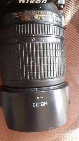 Paraluce a fiore HB-32 x Nikon 105