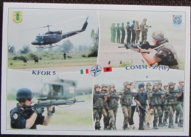 Brigata Alpina Julia - Kfor 2001 Albania