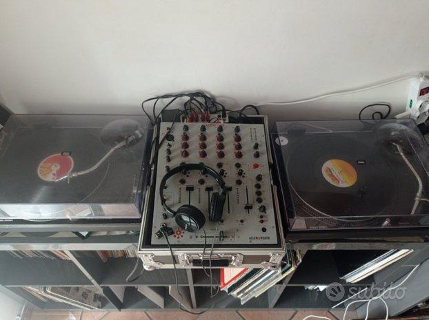 Coppia Technics 1210 mk2 mixer allen heat xone 42