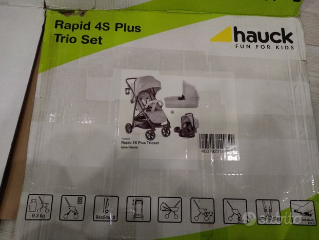 Hauck trio rapid 4s plus