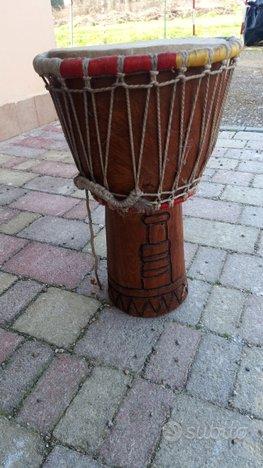 Jambè/bongo/batteria/tamburo del senegal in legno