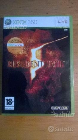 Resident Evil 5 xbox 360