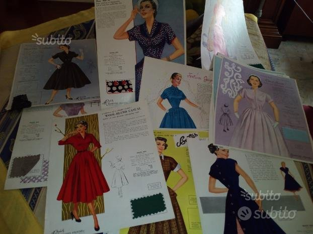 Collezione modelli abiti donna anni 40 americane