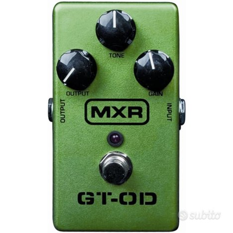 Pedale overdrive mxr
